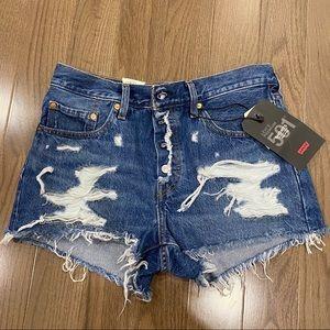 Levi's Premium Jean Shorts